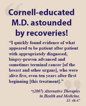 cornell-educated MD testimonial